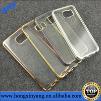 For Samsung Galaxy S6 Edge Electroplate TPU cases