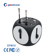 Novelty gifts promotional unique travel adapter business gift ideas for mobile phone charger