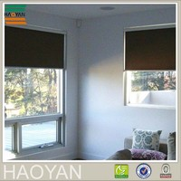 Haoyan sunscreen blackout fabric roll up cordless shades