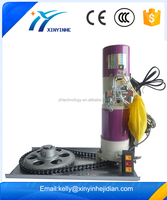 XINYINHE 500KG electric rolling door motor with automatic or manual operation/roll up shutter door motor