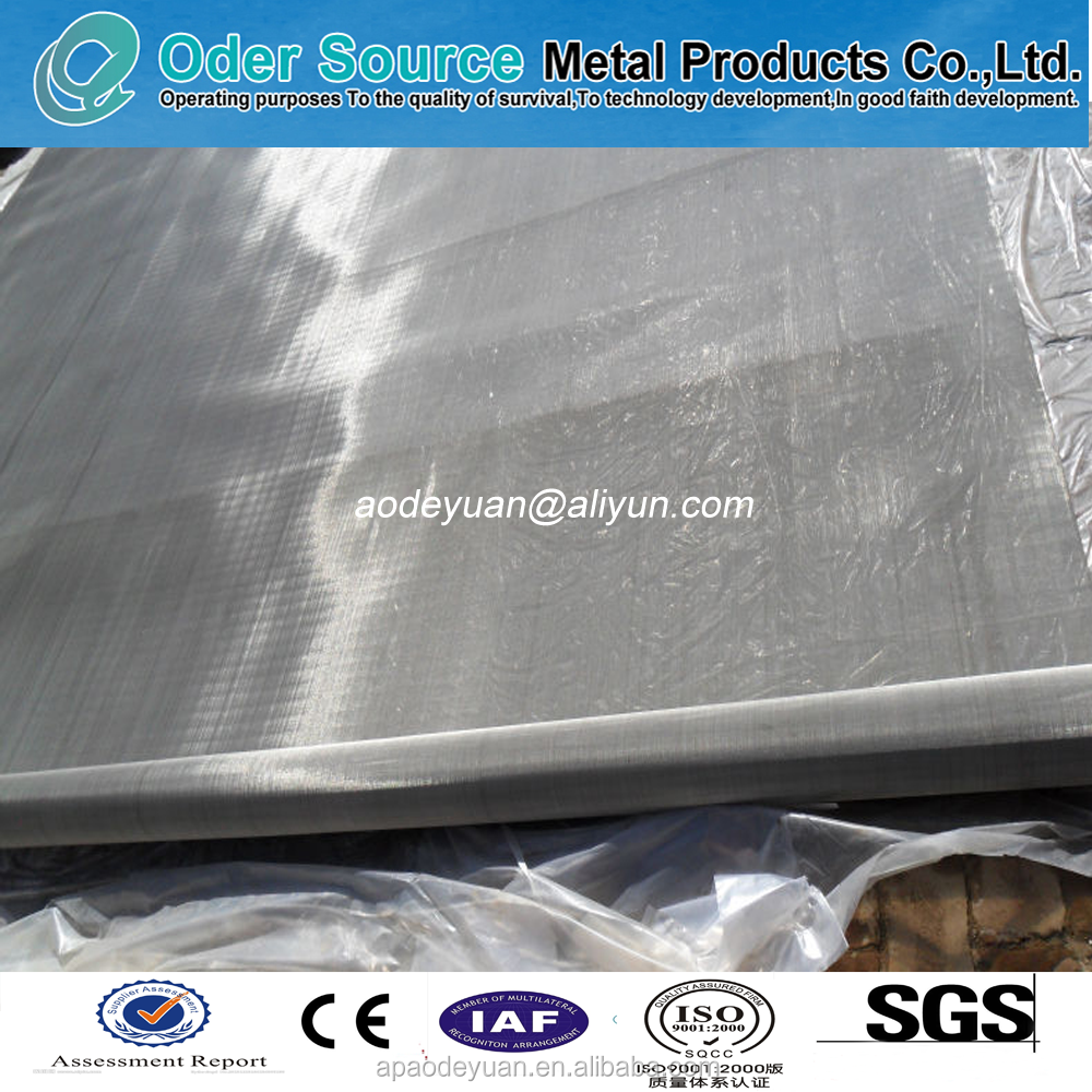 High quality carbon filter used stainless steel wire mesh/wire cloth