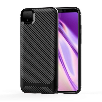 Hot Selling Twill Carbon Fiber TPU Phone Case For Google Pixel 4