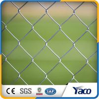 6ft Pvc Coated Stainless Steel Wire Mesh Chain Link Fence