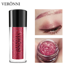 VERONNI Eyes <strong>Cosmetics</strong> Easy to Wear Metallic Glitter Eye shadow Powder 12 Color Eye Shadow Shimmer Pigments