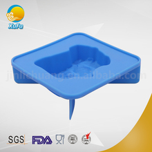Individual baking mold for oven quare silicone baking mold for homemade cake