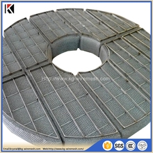 Excellent quality stainless steel wire mesh knitted demister/mist eliminator