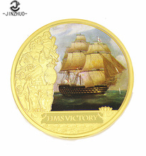Cheap custom made challenge old gold coin for souvenir