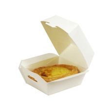disposable small paper hamburger packaging/cake packaging boxes