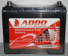 MF55D23L(12V 60Ah) Automotive Calcium MF Battery.