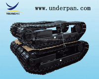 steel track or rubber track undercarriage for excavator /drill machine