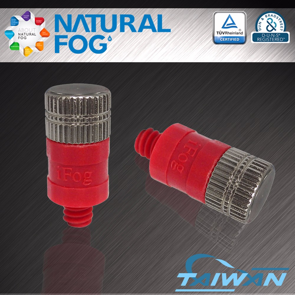 Natural Fog Low Pressure Cleanable Drip Free Pest Control POM Plastic Mist Spray Nozzle