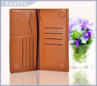 China Products Hot Selling Smart Phone Accessory Flip Purse Wallet Cover For iPhone 6 Case Genuine Leather