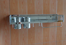 wall mounted Stainless steel kitchen storage shelf