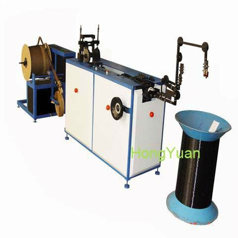 automatic double loop wire forming machine