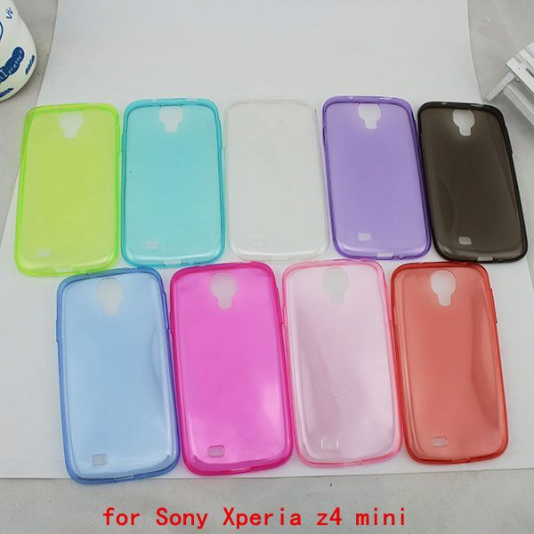Alibaba China hot selling ultra thin soft tpu case for Sony Xperia z4 mini