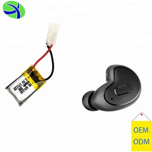 Hjl Custom Un38.3 Iec62133 Approved 3.7 V Bluetooth Headset Battery / Lithium Polymer Battery For Bluetooth Factory Price