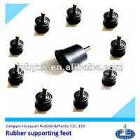(EPDM,silicone,NR,NBR and recycled rubber)rubber feet for equipment