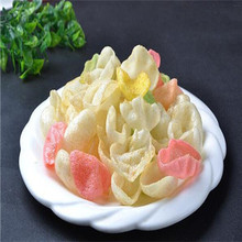 White or red prawn crackers vietnam krupuk udang