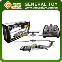 JXD 345 infrared 3.5ch rc black hawk helicopter military helicopter
