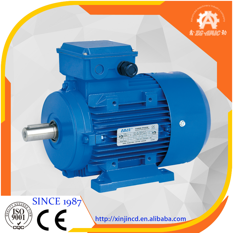 High efficieny Y2 IEC standards Aluminum housing Three phase asynchronous electrical motor