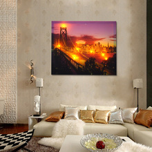 CE ROTH Certified Light Up LED Colorful Canvas Painting with Various Size