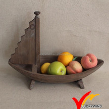 Vintage Home wooden boat craft