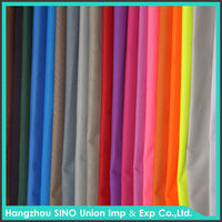 Hangzhou textile factory custom PVC backing different color weave oxford fabric