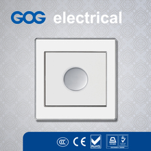 High qualified material panel light control flat wall switch led light switch dimmer switch