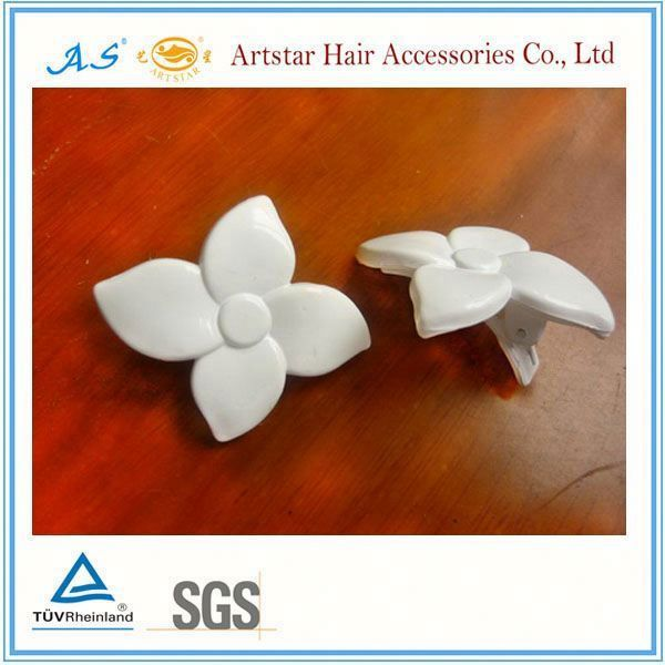 flower hair alligator clip