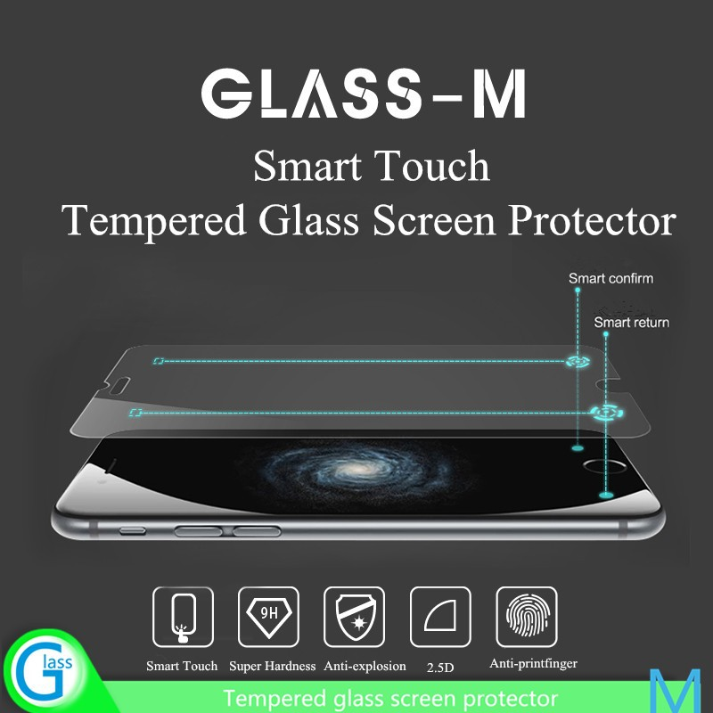 Mobile Phone Smart Touch Tempered Glass Screen Protector for iPhone 6S