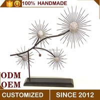 Metal Flower Decoration Arts And Crafts, Home Decorative