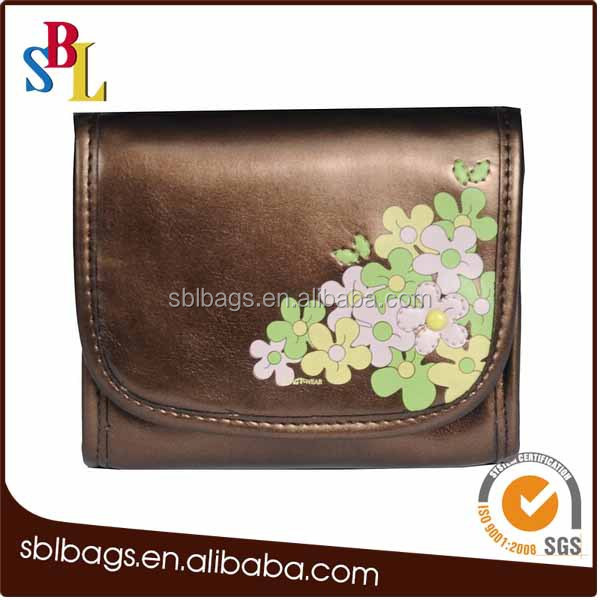 2015 PU Leather cosmetic makeup bag pouch