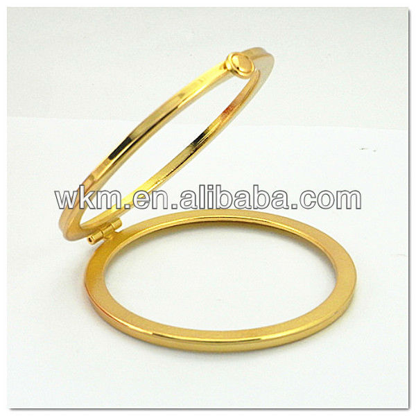 alloy Box Clutch clasp