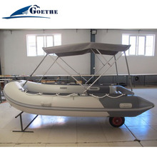 GTS360 Goethe boat inflatable boats w/t launching wheels
