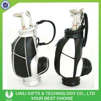 supply customized PU stand bag office golf set