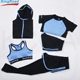 In stock 5 pieces yoga wear wholesale high quality fitness yoga set women