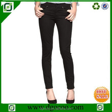 New western design skinny slim fit mid-waist european style women's jeans brands