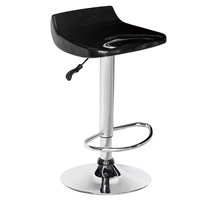 Low price adjustable plastic abs bar stool