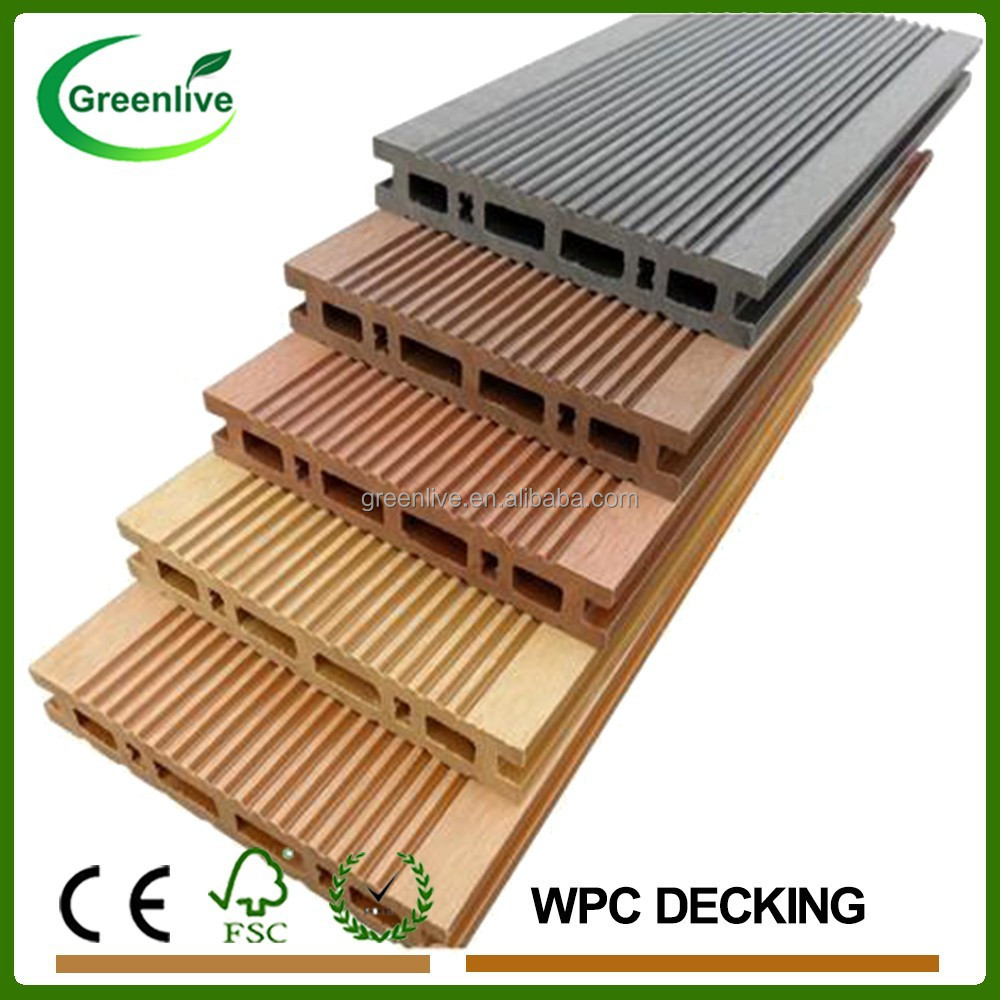 Recyclable Wood Composite WPC Boat Decking Material