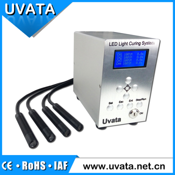 UVATA 4 Channel Nature-cooling UV LED Spot Curing System