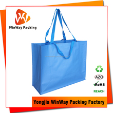 Double Handle Reusable Bopp Laminated PP Woven Bag