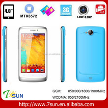 "4.0"" SS3 Android 4.4 MTK6572 512MB 4GB china cheapest 3g android phone mobile"