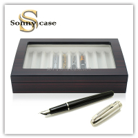 high quality wooden storage pen box for gift
