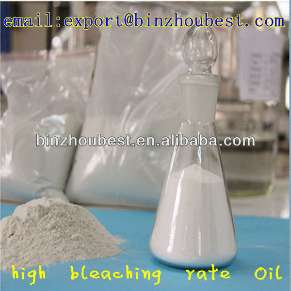 Highly Activated Clay/ Bleaching Earth for soya bean oil Refining