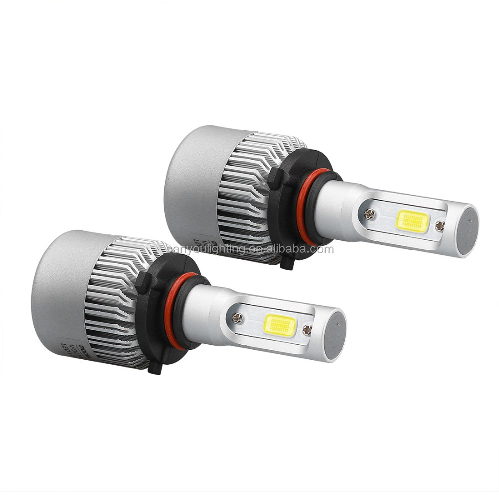 cob car headlight 20W led headlamp single double beam led headlight