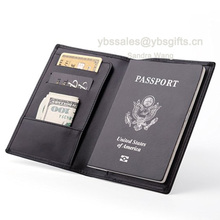 Multi-purpose Customized Travel Leather Passport Wallet Document Holder