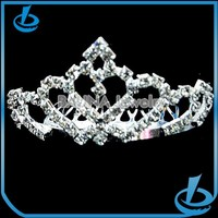 Fashion design women jewelry rhinestone hair crown