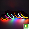 Light up Safety pet accessory Battery LED dog collars leash