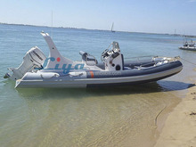 Liya 20 6.2meter feet hypalon rib inflatable boat with motor