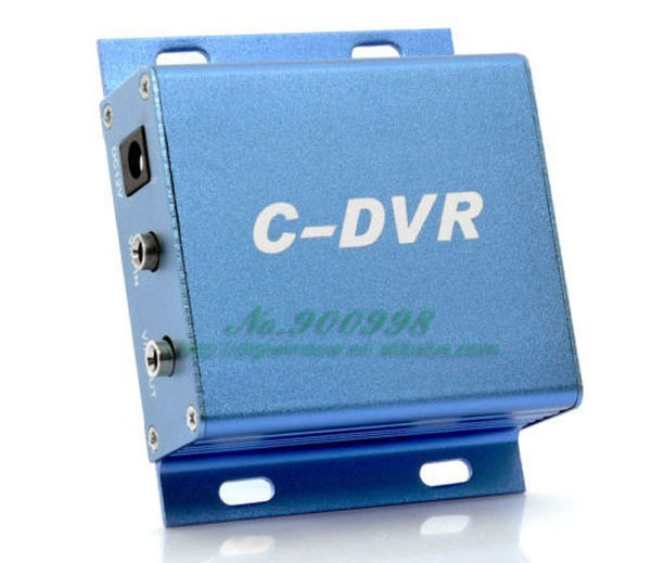 Mini portable DVR - Surveillance camera adapter mini CCTV DVR C-DVR TF card recorders support 32GB SD card (DW-D-431)